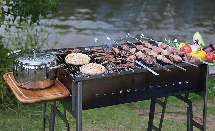 Мангалы,печь,садовая печь,мангал,мангал для дачи, печь 3 в 1, многофункциональная печь